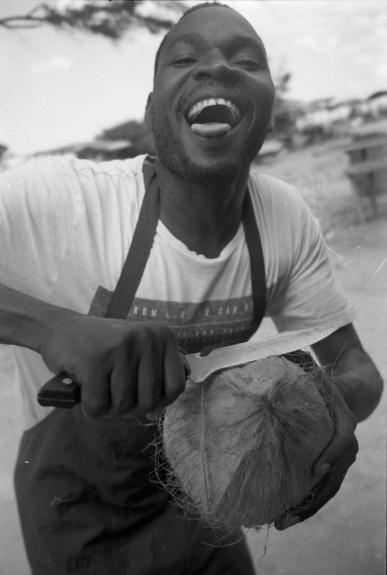 Coco Seller, Tanzania 2017