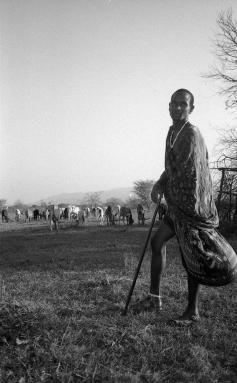 Massaai Man, Tanzania 2017