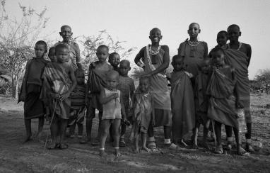 Massaai Woman with their children, Tanzania 2017